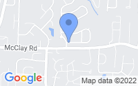 Map of St. Peters MO