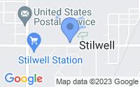 Map of Stilwell KS