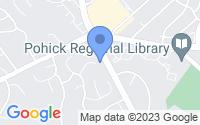 Map of Burke VA