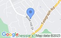 Map of Rose Hill VA