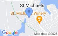Map of Saint Michaels MD