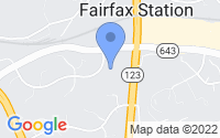 Map of Fairfax Station VA