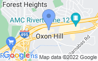 Map of Oxon Hill MD
