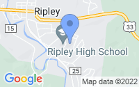 Map of Ripley WV