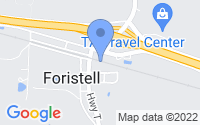 Map of Foristell MO