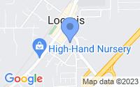 Map of Loomis CA