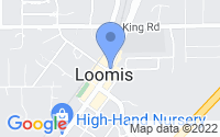 Map of Loomis CA