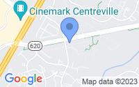 Map of Centreville VA