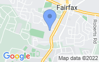 Map of Fairfax VA