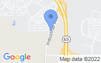 Map of Lincoln CA