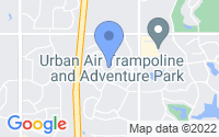 Map of Overland Park KS