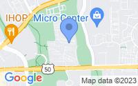 Map of Merrifield VA