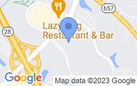 Map of Chantilly VA