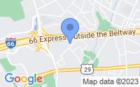 Map of Fairfax VA