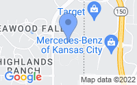 Map of Overland Park KS