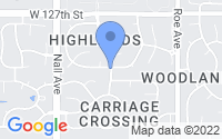 Map of Leawood KS