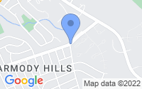 Map of Capitol Heights MD