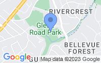 Map of Arlington VA