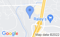 Map of Auburn CA