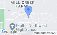 Map of Olathe KS