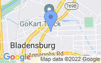 Map of Bladensburg MD