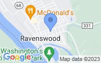Map of Ravenswood WV