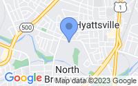 Map of Hyattsville MD