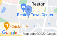 Map of Reston VA