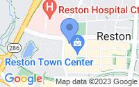 Map of Reston VA