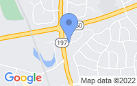 Map of Bowie MD