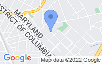 Map of Takoma Park MD