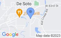 Map of De Soto KS