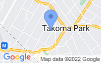 Map of Takoma Park MD