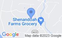 Map of Shenandoah VA