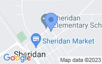 Map of Sheridan CA