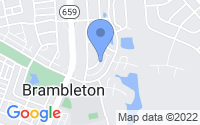 Map of Brambleton VA