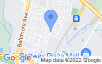 Map of College Park MD