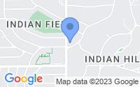 Map of Mission Hills KS