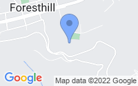 Map of Foresthill CA