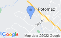 Map of Potomac MD