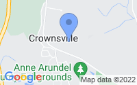 Map of Crownsville MD