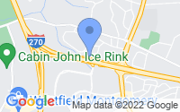 Map of Rockville MD