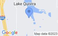 Map of Lake Quivira KS