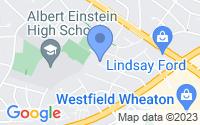 Map of Kensington MD