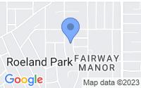 Map of Roeland Park KS