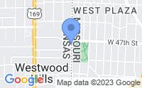 Map of Westwood KS
