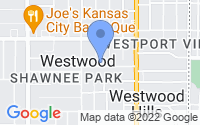 Map of Westwood KS
