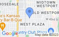 Map of Kansas City MO