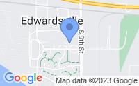 Map of Edwardsville KS