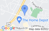 Map of Silver Spring MD